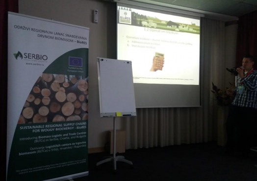 The BioRes training- Sustainable regional supply chains for woody bioenergy was held on April 21st in Belgrade, within the fair RENEXPO ® Western Balkans.